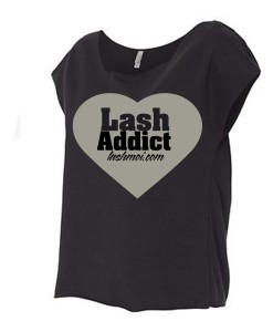 Lash Addict Black Off the Shoulder